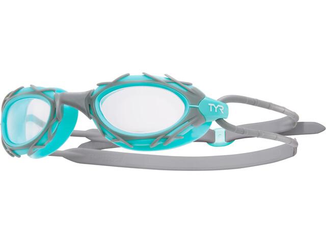 TYR Nest Pro Nano Svømmebriller, clear/mint